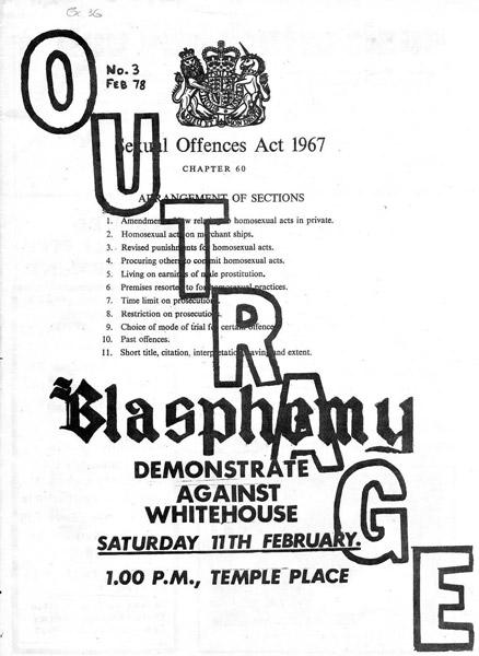 Decriminalisation of homosexuality 1967